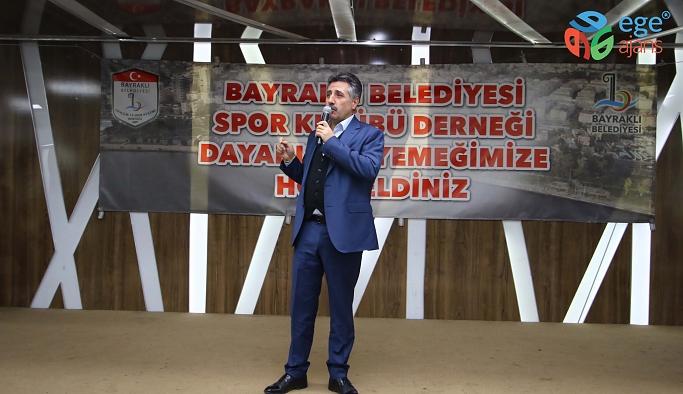 Amatör spor kulüpleri Bayraklı'da buluştu