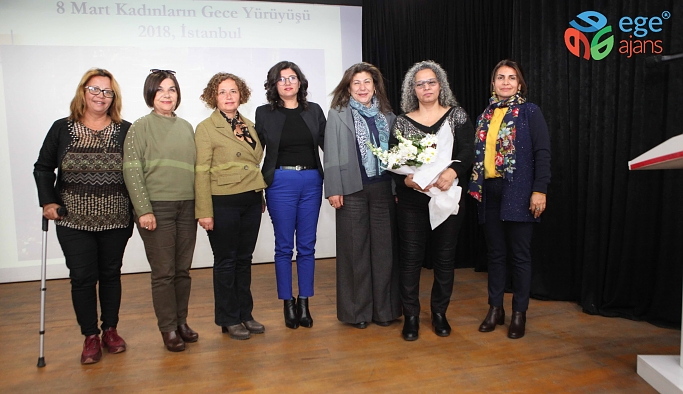 Bayraklı'da Kadın Hakları Günü etkinliği