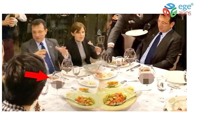 Ekrem İmamoğlu'nun et restoranındaki görüntüleri olay oldu