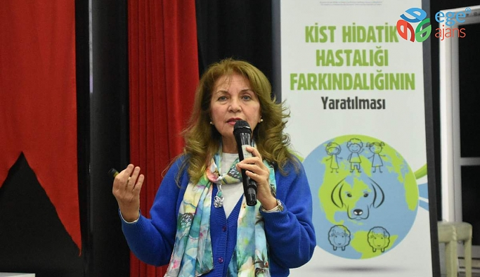ALİAĞA'DA 'KİST HİDATİK' EĞİTİMİ DÜZENLENDİ