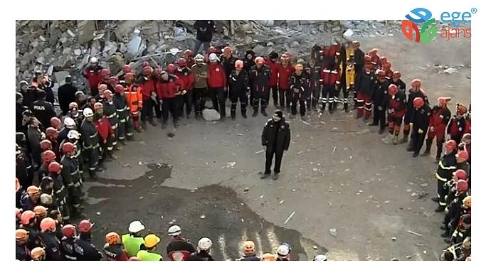 Arama-kurtarma ekipleri çalışmaların sonlanmasıyla birlikte deprem bölgesine veda etti
