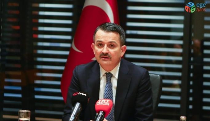 """Bakan Pakdemirli: """"Türkiye sağlıklı gıda üreten bir ülkedir"""""""