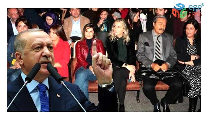 Cumhurbaşkanı Erdoğan, Demirtaş'ın tiyatrosunu izleyenlere tepki gösterdi