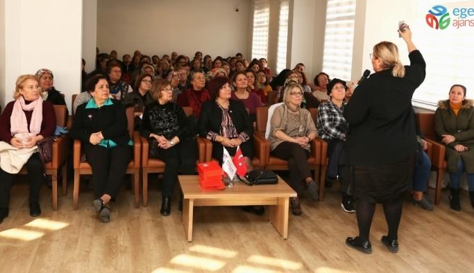 Efeler'de 'kadınlarda idrar kaçırma' sorunu konuşuldu