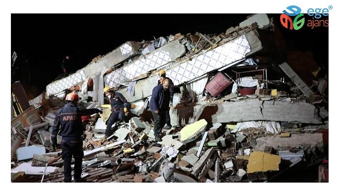 Elazığ'da 21'i 4'ün üzerinde toplam 948 artçı deprem meydana geldi