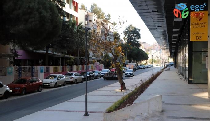 Göztepe Stadı'nın çevresi yenilendi