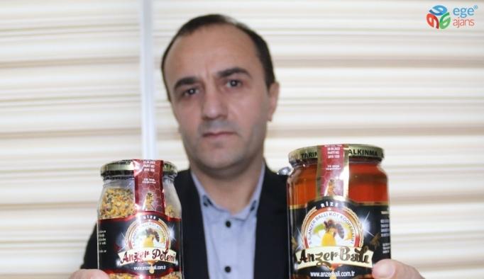 Kilogramı bin TL'den satılan Anzer Balı'nın bu yıl ki üretiminin yüzde 70'i satıldı