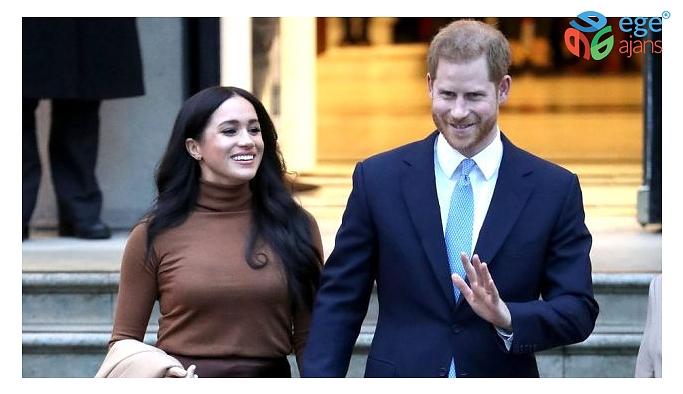 Prens Harry ve eşi Meghan Markle kraliyet ailesindeki üst düzey görevlerinden çekildi