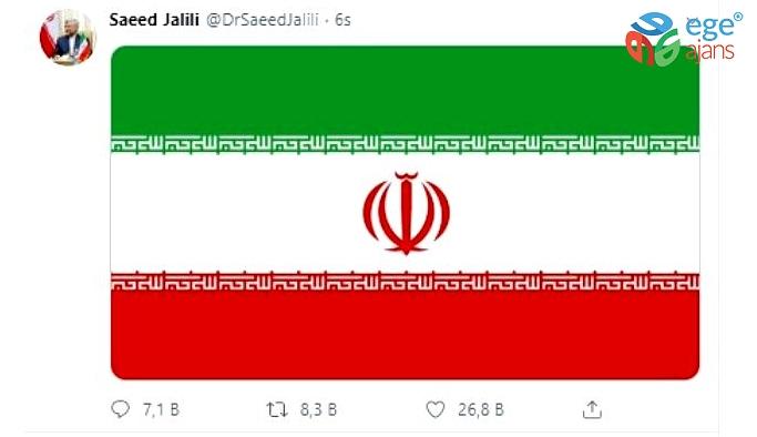 "Trump'ın ""bayraklı"" paylaşımına İran'dan misilleme"