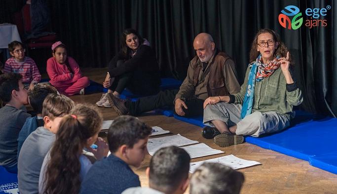 """Ünlü çocuk kitapları yazarı Asa Lind'den İzmirli çocuklara mesaj.  """"Hayal edin, keşfedin"""""""