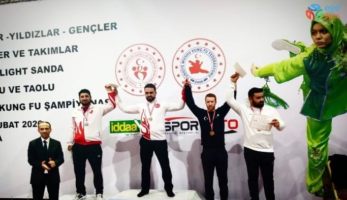2020 Türkiye Wushu Kung Fu Şampiyonası rekor katılımla sona erdi