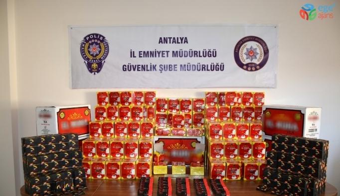 Antalya'da sahte ürün operasyonu