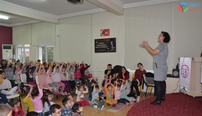 Çocuklara 'Kişisel Bakım ve Hijyen' eğitimi verildi