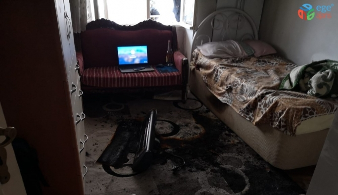 Elektrikli ısıtıcı devrildi, akıma kapılan işçi hayatını kaybetti