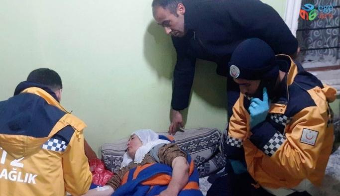 Erciş'te hasta kurtarma operasyonu