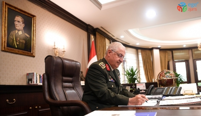 Genelkurmay Başkanı Güler, İngiltere Genelkurmay Başkanı Patrick Carter ile görüştü