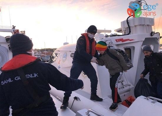 İzmir'de 116 kaçak göçmen yakalandı