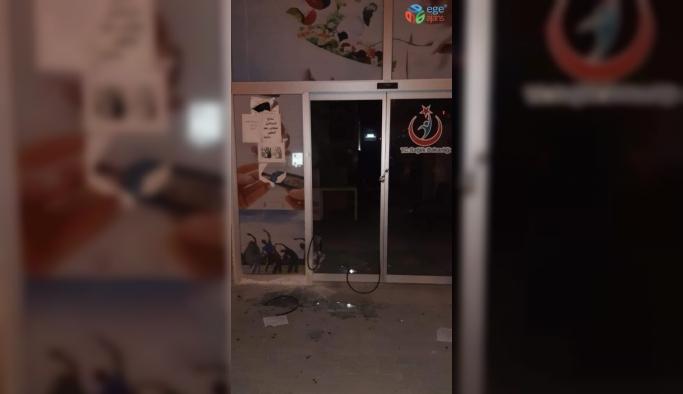 Mersin'de sağlık merkezine molotoflu saldırı