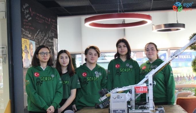 Robotik yarışmasında Türkiye rekoru