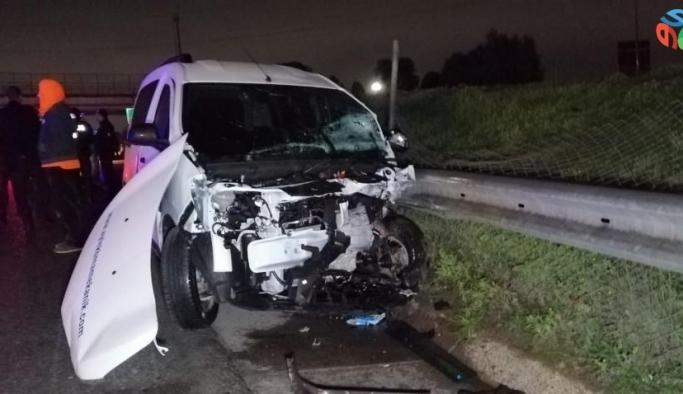TEM Otoyolunda korkunç kaza: 2 ölü