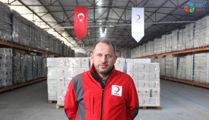 """Türk Kızılay Suriye Alan Koordinatörü Kökcan: """"Öncelikle barınmayı sağlamalıyız"""""""