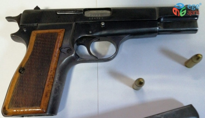 Yasadışı silah ticareti yapan 1 kişi tutuklandı