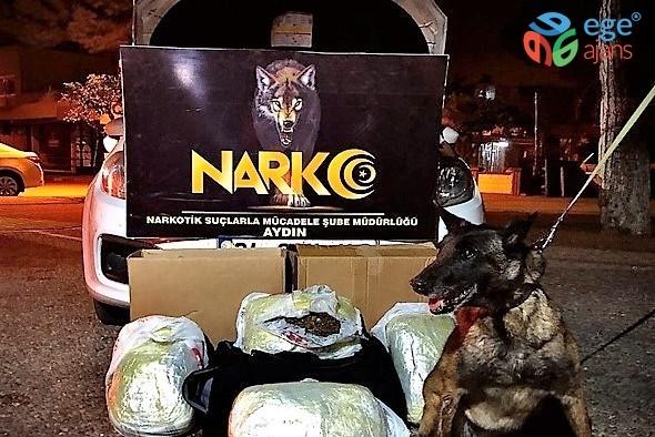 5.9 kilo esrarla yakalanan uyuşturucu taciri tutuklandı