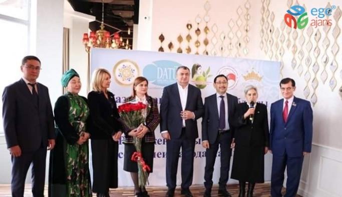 Gülperi Kasanova'ya Kazakistan'da anlamlı ödül