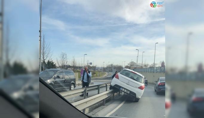 İstanbul'da ilginç kaza