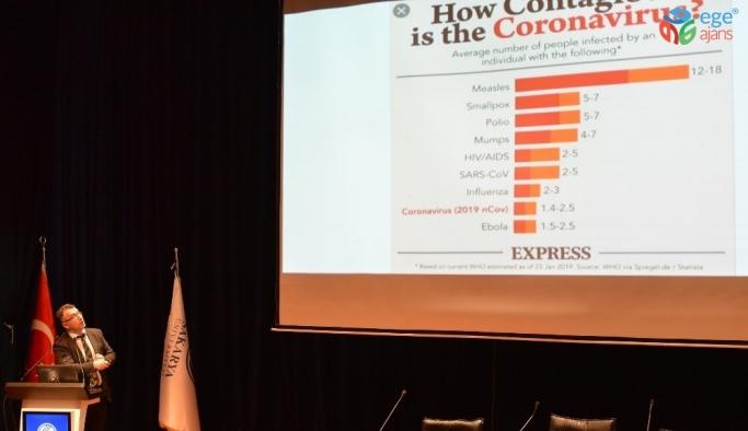 Korku ve paniğe neden olan Korona virüsünün ölüm oranı yüzde 3