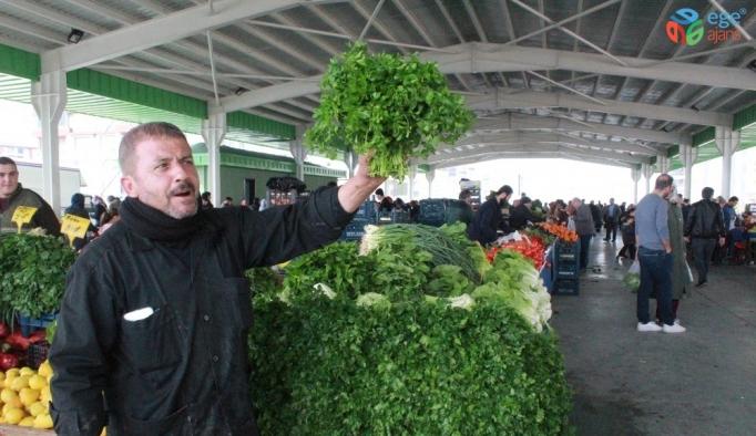 Korona virüs Gaziantepli pazarcıları etkilemedi