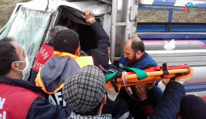 Tatvan'da trafik kazası: 1 yaralı