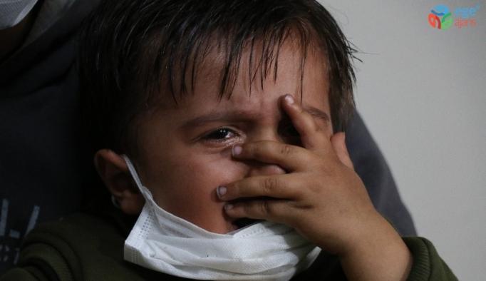 2 yaşındaki Abdurrahman'ın umudu korona virüs engeline takıldı
