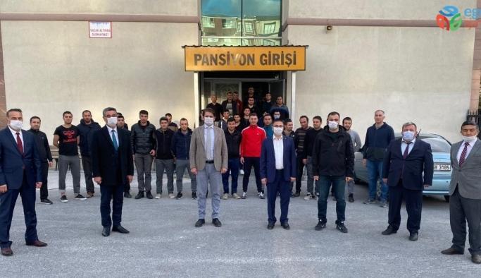 Başsavcı Dönmez'den infaz koruma memurlarına ziyaret