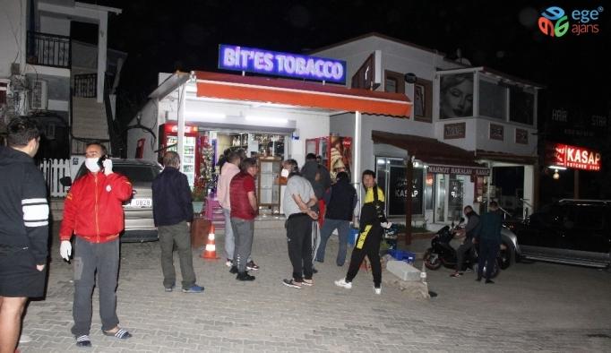 Bodrum'da 1 saatte tezgahlar boşaldı