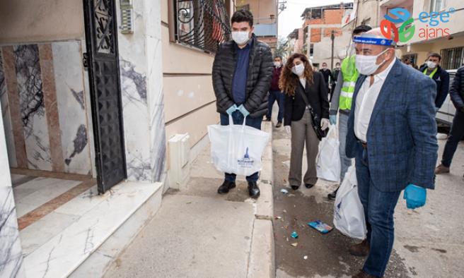 Büyükşehir'in dayanışma kampanyasına inşaat mühendislerinden destek