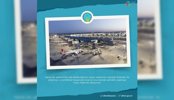 DHMİ Genel Müdürü Keskin'den İstanbul Havalimanı paylaşımı
