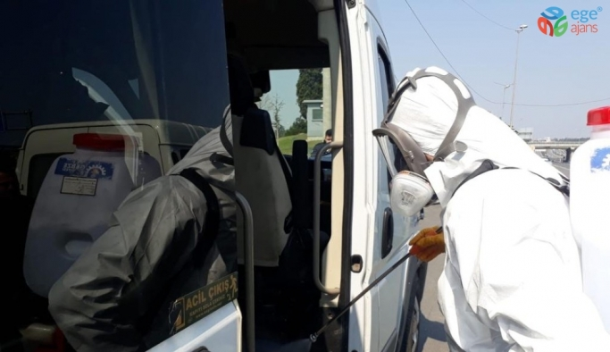 Gebze'de korona virüs tedbirleri 7 gün 24 saat sürüyor