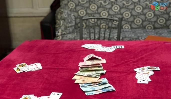 Kahramanmaraş'ta kumarhane baskınına 52 bin 150 lira ceza