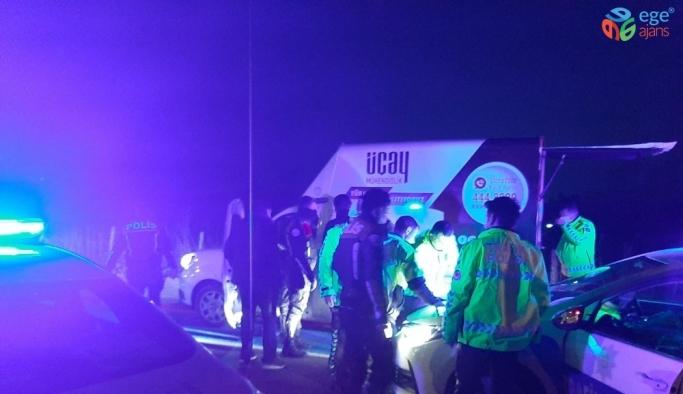 Kaza yapan sürücü, kovalamaca sonucu yakalandı