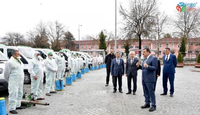 Malatya'da haşere ile mücadele başladı