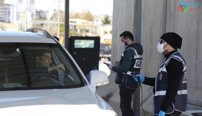Mardin'e giriş çıkışlarda sıkı tedbir