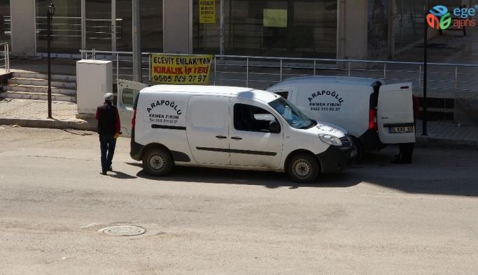 Mobil fırınlar sahada, polisler devriyede