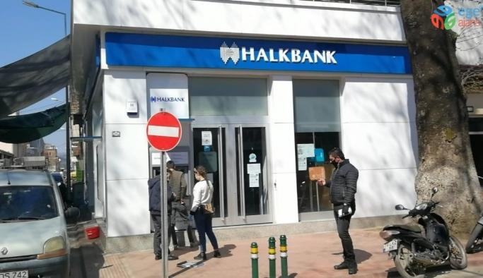 Müdürün testi pozitif çıktı, banka kapandı