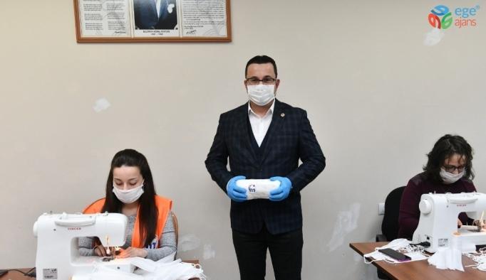 Mustafakemalpaşa Belediyesi ilk etapta 20 bin maske üretip ücretsiz dağıtacak