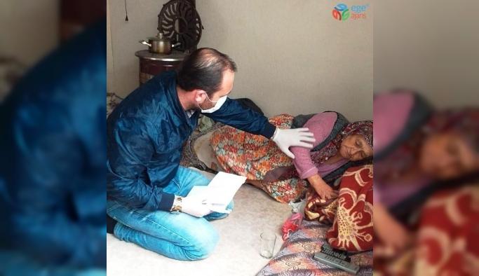 Ödemiş TÜGVA'dan ihtiyaç sahiplerine yardım