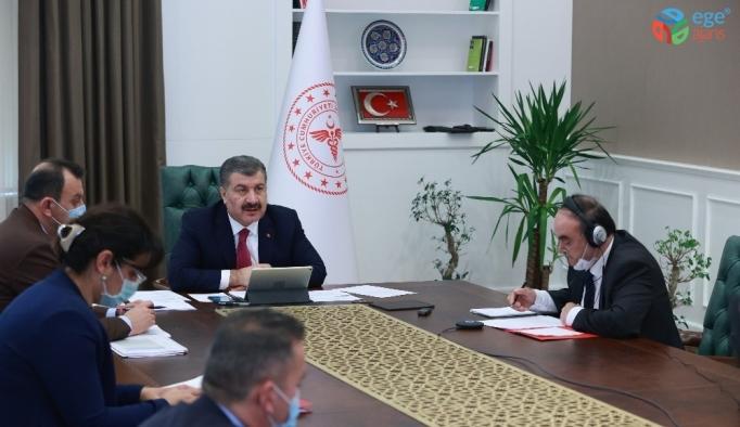 Sağlık Bakanı Koca, Türk Konseyi Sağlık Bakanları Toplantısına katıldı