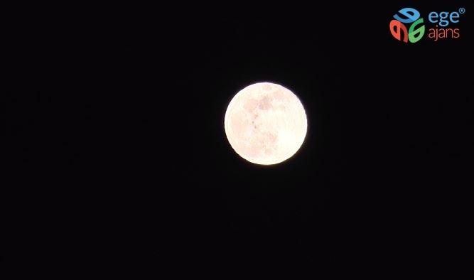 'Süper Ay' Gaziantep'te görüntülendi