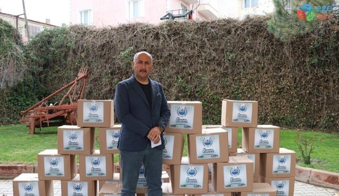 Yahşihan Belediyesinden ihtiyaç sahiplerine 100 koli erzak