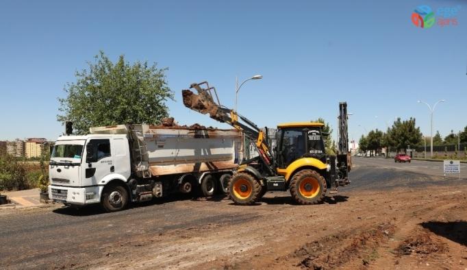 Büyükşehir Belediyesi kazalara neden olan kavşakta çalışma başlattı